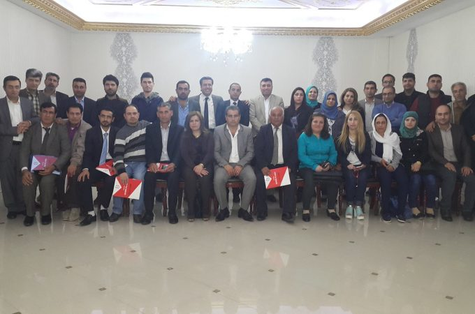 """انتخابات اللجنة الوطنية للمنصة المدنية السورية """"منصة كوردستان"""""""