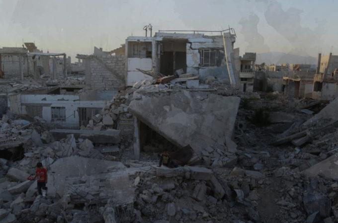 المدنيين بالغوطة بعد سيطرة النظام السوري