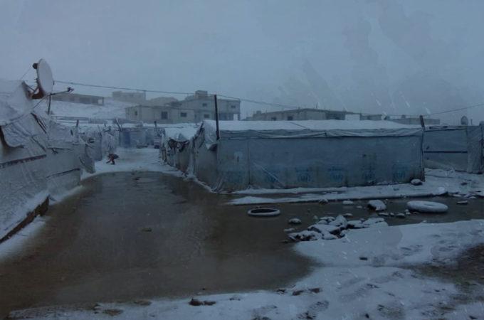 """مخيمات اللاجئين السوريين في لبنان """"نداء استغاثة عاجلة"""""""