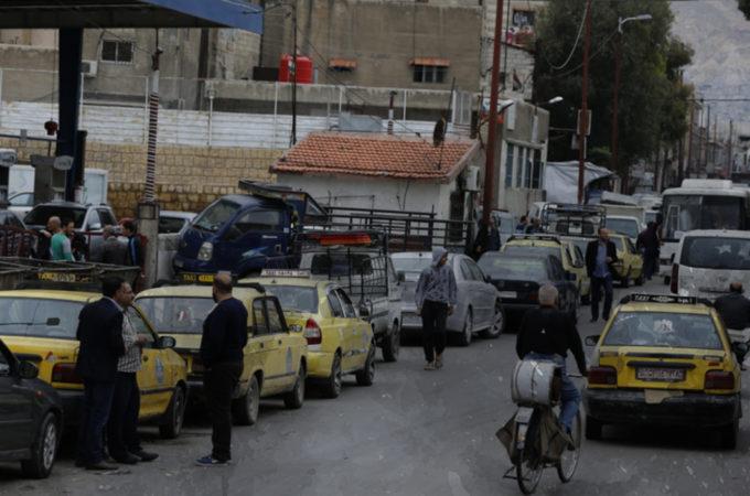 تأثيرات انقطاع البنزين عن دمشق وريفها