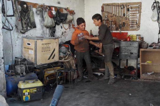 دراسة حالة عمالة الأطفال في مدينة القامشلي لعام 2019