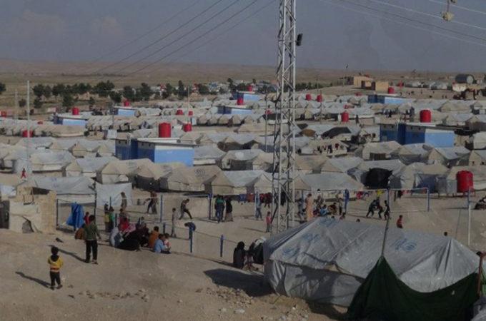مخيمات النازحين في شمال شرق سورية (١) مخيمات الحسكة