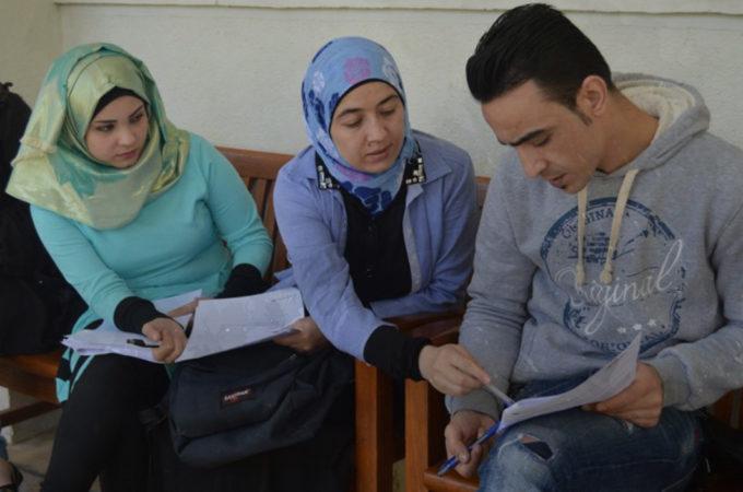 التعليم الجامعي للاجئين السوريين في إقليم كردستان العراق
