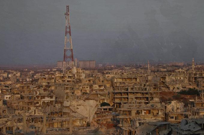 محافظة درعا بعد سيطرة النظام السورية عليها