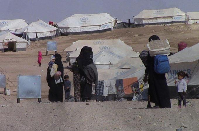 مخيمات النازحين في شمال شرق سورية (2)